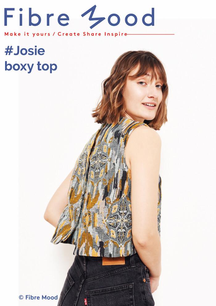 Fibre Mood - Josie boxy top