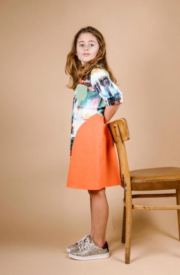 KnipKids 0120 - 26 jurk
