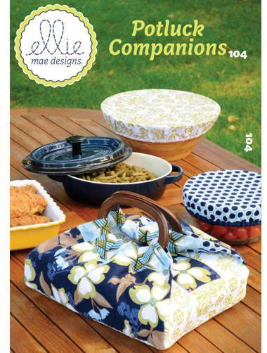 Ellie Mae 104 Potluck companions - afdekhoesjes voor kommetjes en een casserolehoes