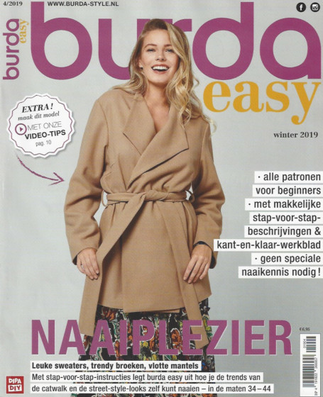 Burda Easy 4 winter 2019