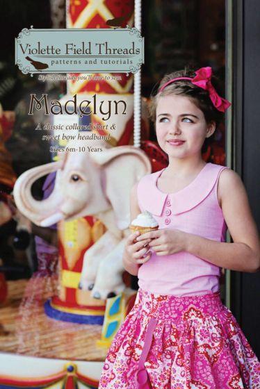 Violette Field Threads madelyn shirt en haarband