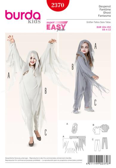 Burda - 2370 Spook kostuum