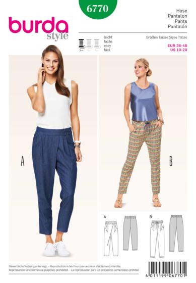 Burda - 6770 Pantalon