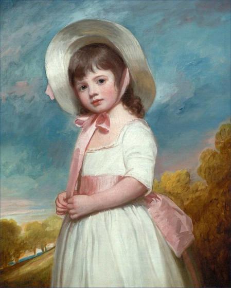 Sense and Sensibility -  Girls' 1780 Portrait Dress Pattern