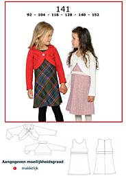 Abacadabra patroon 141 jurk en vestje