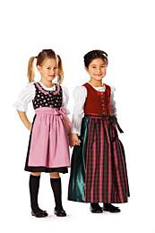 Burda 9509 Dirndl jurken
