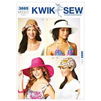 KwikSew 3885 zonnehoeden en pet