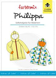 Farbenmix Philippa patroon jas