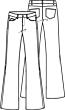 Knipmode 1020 - 16 - Broek
