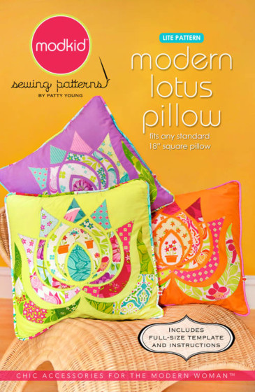 Modkid Modern Lotus pillow