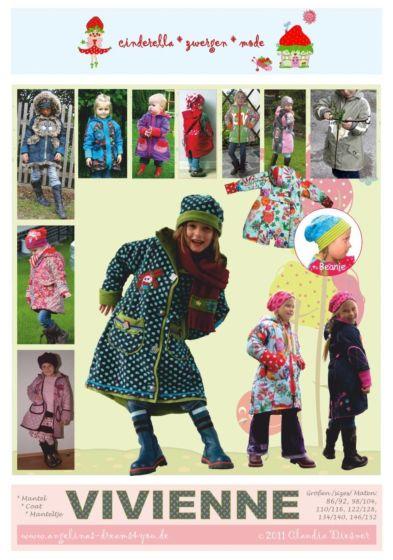 Cinderella Zwergenmode Vivienne winterjas voor meisjes