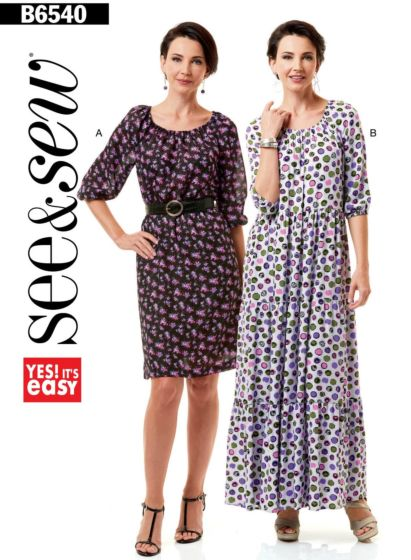 Butterick See & Sew 6540