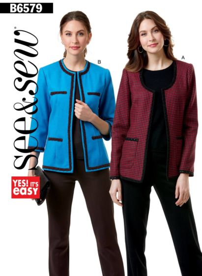 Butterick See & Sew 6579