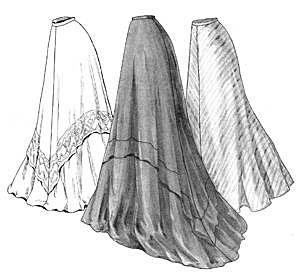 Truly Victorian TVE22 1905 Circular Skirt