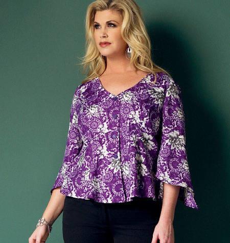 Butterick - 5967 blouse-top