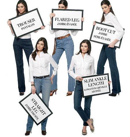 Butterick 5682 jeans spijkerbroeken