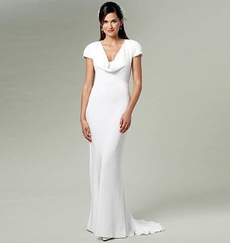 Pippa jurk dress Royal Wedding 2011 naaipatroon