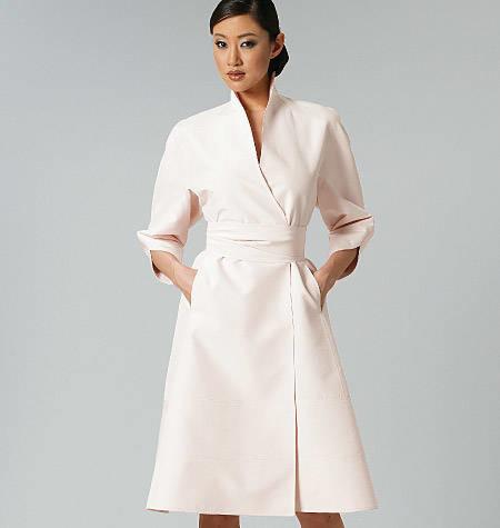 Vogue 1239 getailleerde jurk CHADO