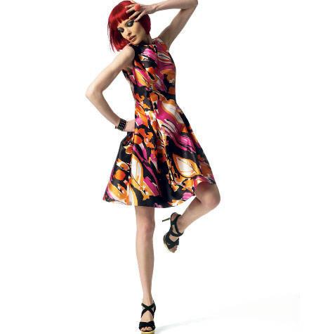 Vogue 1348 Tom & Linda Platt jurk