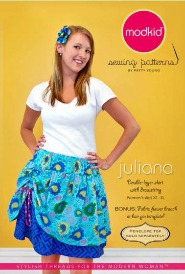 Modkid Juliana 2-laags rok met ophaal