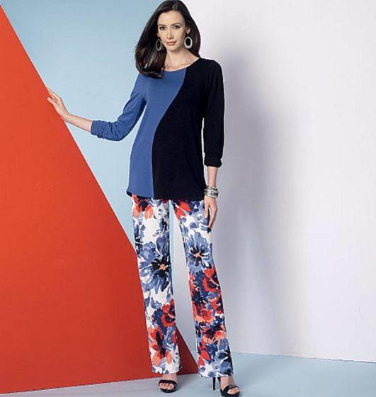 Vogue - 9175 Shirt, jurk, top, broek