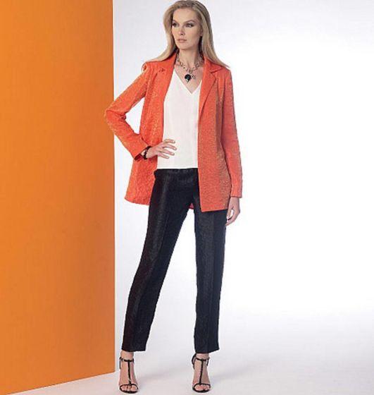 Vogue - 9176 Jasje, top, jurk, broek