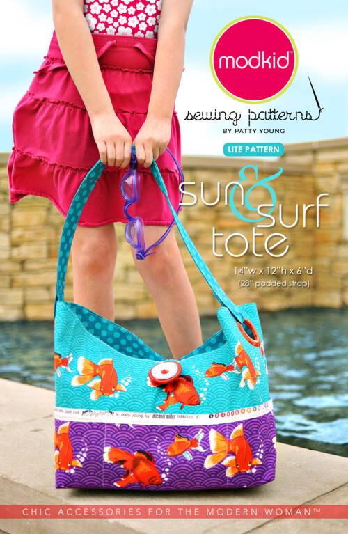 Modkid sun & surf tote, patroon