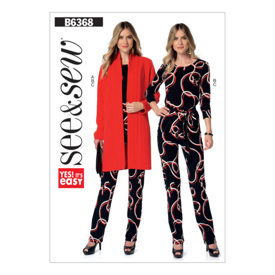 Butterick See & Sew 6368