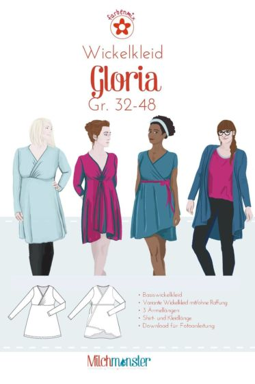 Farbenmix Wikkelkleid Gloria