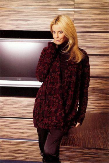 Pattern Company - 06-475 Halflange trui met wikkeleffect