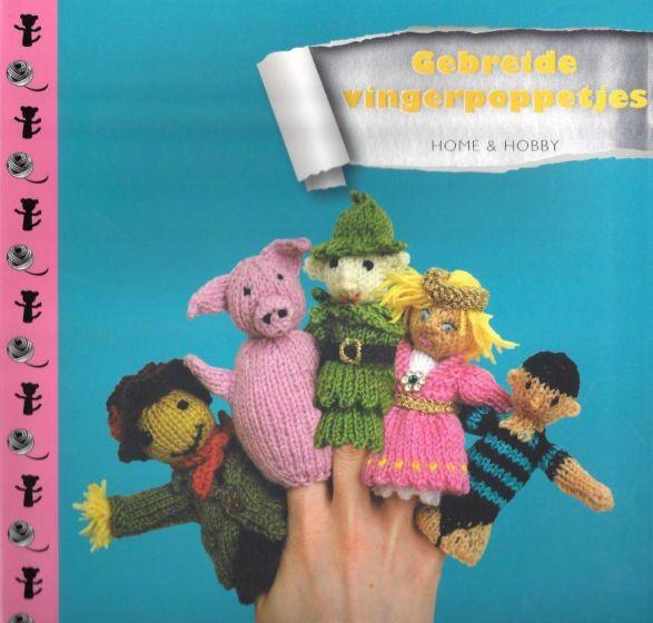 Gebreide vingerpoppetjes ISBN 9789461880819