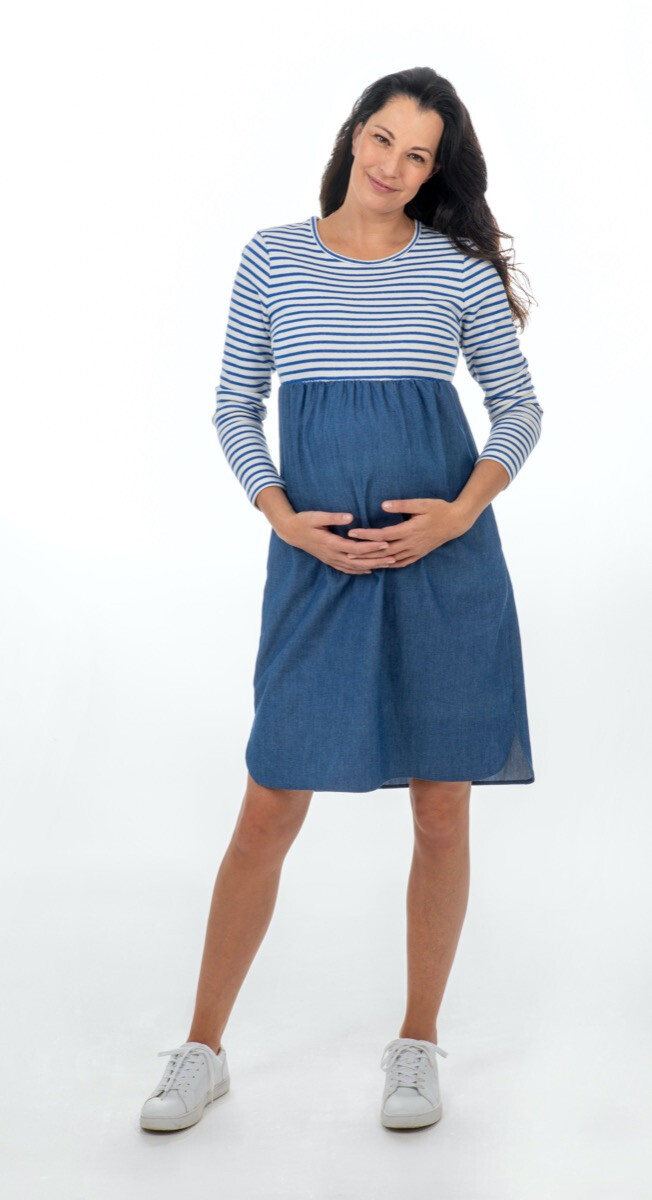 KNIPkids 0121 - 29 - Zwangerschapsjurk