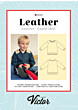La Maison Victor - Leather sweater