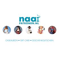 Naaipatronen.nl Cadeaubon € 5,00
