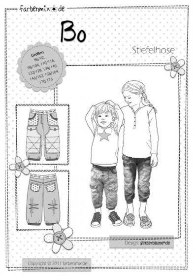 Farbenmix BO lange broek voor kinderen