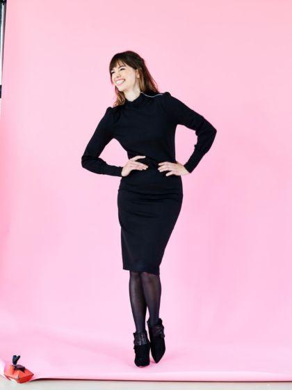 Knipmode december 2019 - jurk 15