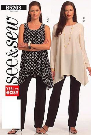 Butterick See & Sew - 5203