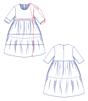 Fibre Mood - Mira jurk*