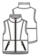 Knippie 0519 - 7 Bodywarmer