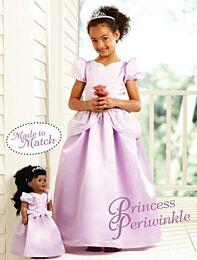 KwikSew 3903  Prinsessenjurk inclusief bijpassende jurk voor poppen