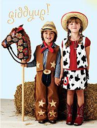Kwiksew 3920 Cowboy en cowgirl verkleedkleren
