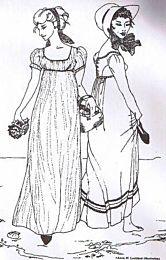 Sense and Sensibility - Regency Gown