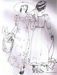 Sense and Sensibility - Edwardian Dress