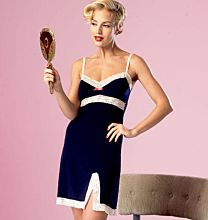 Butterick 6031 jaren 50 lingerie