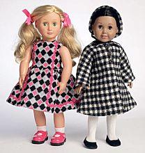 Butterick - B6275 Poppenkleertjes