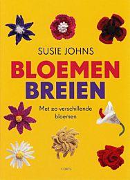 Bloemen breien van Susie Johns boek