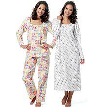Butterick 5667 Pyjama en nachtjapon
