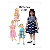 Butterick - B6314 Jurkje