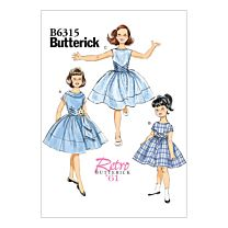 Butterick - B6315 Jurkje