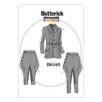 Butterick - B6340 Herenkostuum